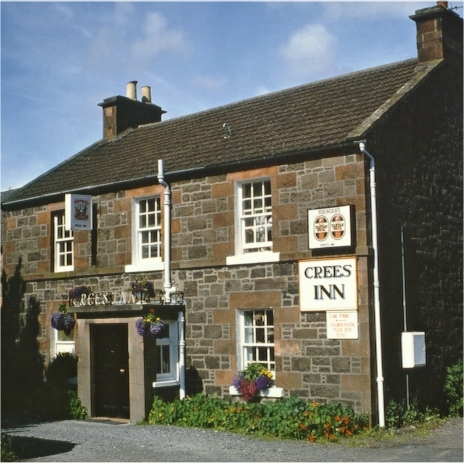 The Crees Inn at Abernethy, Scotland
